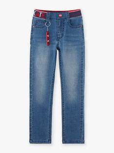 Baby-Jungen-Jeans und Skateboard-Schlüsselanhänger BACIOAGE / 21H3PG11JEAP269