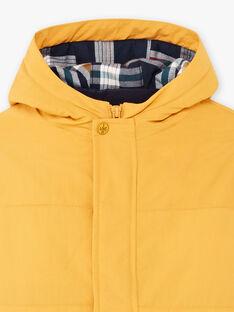 Imperialer gelber Regenmantel für Jungen mit abnehmbarer Daunenjacke BARISTAGE / 21H3PGC3IMPB114