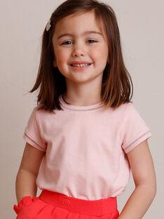 T-shirt mit kurzen Ärmeln Kind Mädchen ZLINETTE 1 / 21E2PFK1TMC413