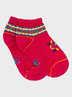 Kurze Socken Fuchsia ROUMINETTE / 19E4PFM1SOB304