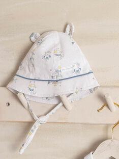 Baby Junge Popeline gedruckt Hut ZOMATEO / 21E0AGY1CHA000