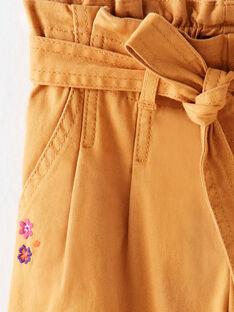 Light brown PANTS VLOYETTE / 20H2PFU1PAN809