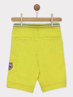 Gelbe Bermuda-Shorts ROPIAGE / 19E3PGM1BER116