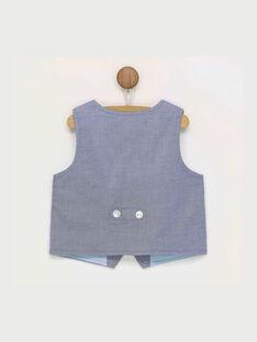 Blaue ärmellose Weste RALUIDGI / 19E1BGF1GSM070