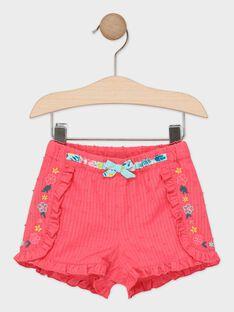 Rosa Babyshorts für Mädchen TAVERO / 20E1BFX1SHOF507