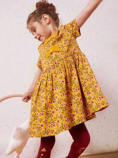 Yellow DRESS VIBORETTE / 20H2PF62ROB107