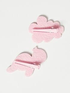 Pink HAIR CLIP VOFLERETTE / 20H4PFB5BRTD329