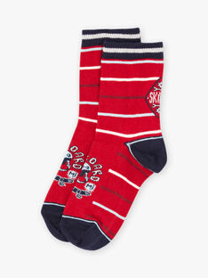 Baby Boy's gestreifte Skateboard Socken BAFOTAGE / 21H4PG11SOQ050