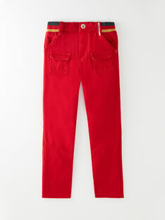 Red PANTS VUCONSTAGE / 20H3PGQ2PAN050