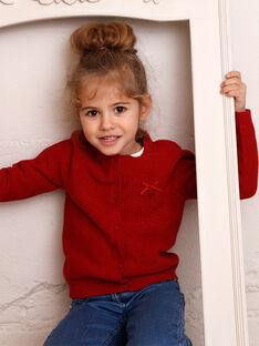 Strickjacke Kind Mädchen ZLADETTE3 / 21E2PFK3CAR719