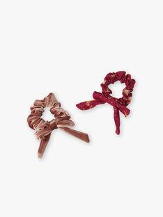 Strawberry rose HAIR ELASTIC VUCHOUETTE / 20H4PFH1ELA308