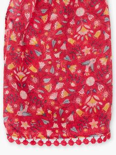 Baby Mädchen Pfingstrose Schal mit floralem Druck TIUJETTE / 20E4PFQ1FOUF510