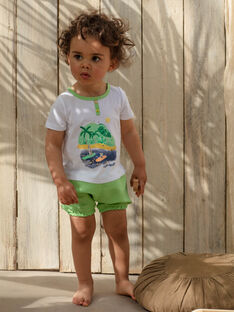 Gestreifte Socken Känguru und Koala Baby Junge TAWILLIAM / 20E1BGX1CBL001