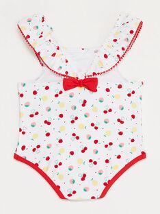 Bedruckter Baby-Badeanzug Mädchen TICASSY / 20E4BFI3MAI001