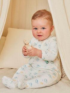 Strampler mit Hemdkragen und Dinosaurier-Print für Baby-Jungen BECESAR / 21H5BG75GRE001