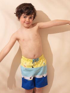 Gelbe Badehose eines Jungen ZYMAILLAGE / 21E4PGR6MAI102
