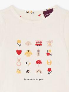 Baby Girl Reversible T-Shirt BAEMY / 21H1BF51TEE001