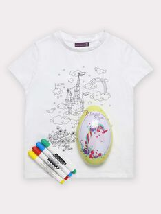 Osterei und T-Shirt für Mädchen TUTUETTE 2 / 20E2PFU1TCT000