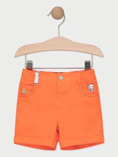 Korallenfarbene Babyshorts für Jungen TAPAKO / 20E1BGP1BER415