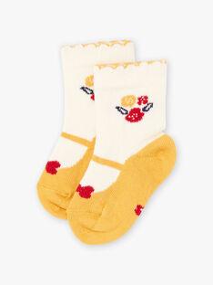 Baby- und Blumensocken für Mädchen BAELAYA / 21H4BF51SOQ001