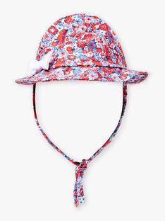 Blauer und roter Hut Baby Girl ZISHAKIRA / 21E4BFR1CHA020