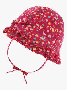 Baby-Hut mit Blumendruck Mädchen TASILOA / 20E4BFQ1CHAF510