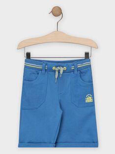 Blaue Bermuda-Shorts Jungen TIAMAGE / 20E3PGO2BERC208