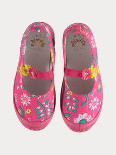 Schuhe Mädchen Sergent Major, aus unserer originellen Kollektion, die die Phantasie von Kindern im Alter von 0 bis 11 Jahren anregen soll. TOWAETTE / 20E4PFG1CHT302